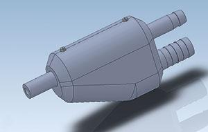 polyblaster-strahlpistolenkoerper